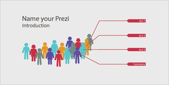 crowd scene prezi eps format download