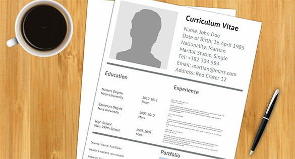 cv resume cool prezi template free download