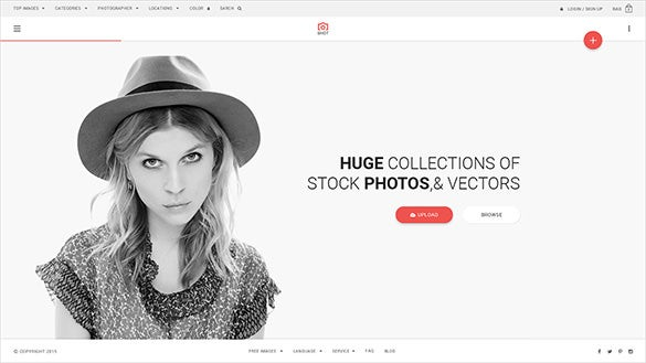 premium photos psd template