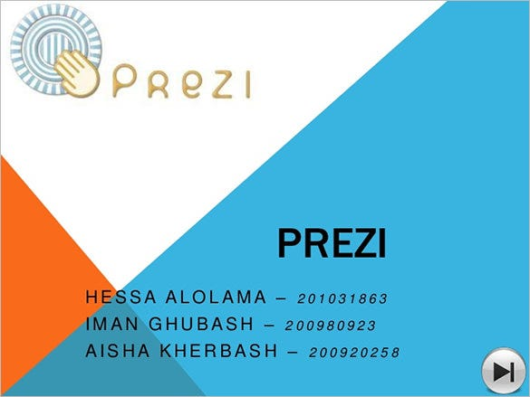 free creative prezi presentation template download