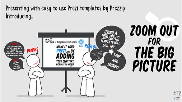 presenting with prezzip powerpoint template