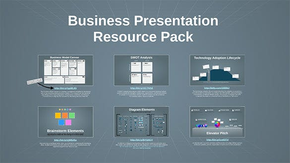 prezi business presentation resource pack download