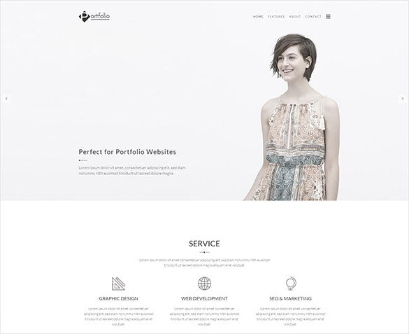 portfolio photofraphy wordpress bootstrap theme