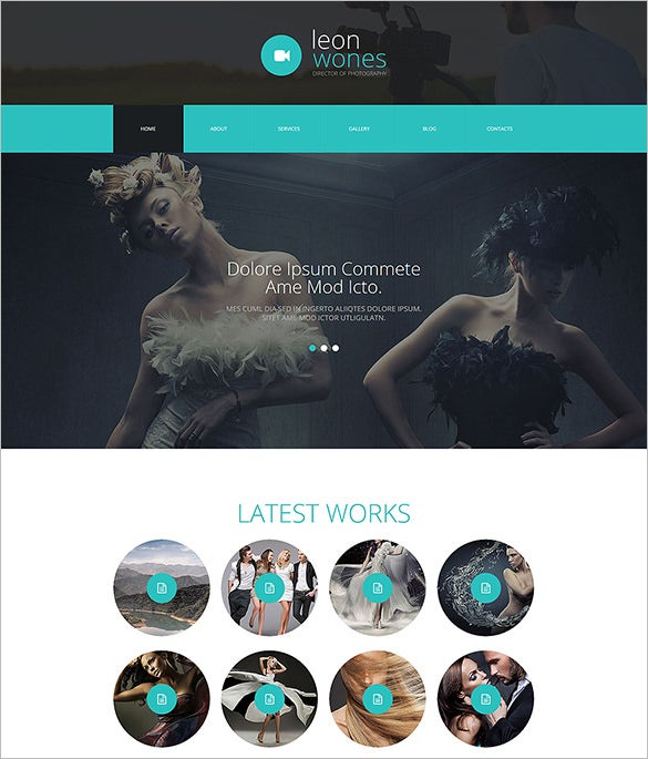 photography director joomla php template