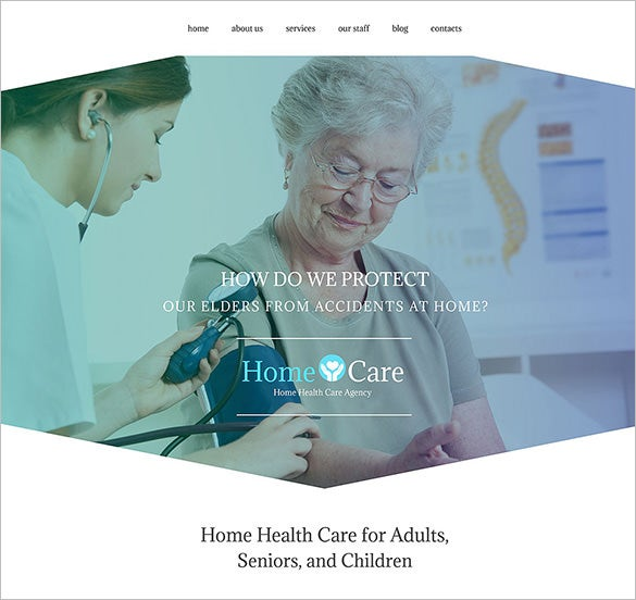 home care wordpress blog theme