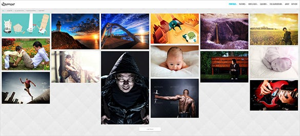 portfolio wordpress php theme for photographers