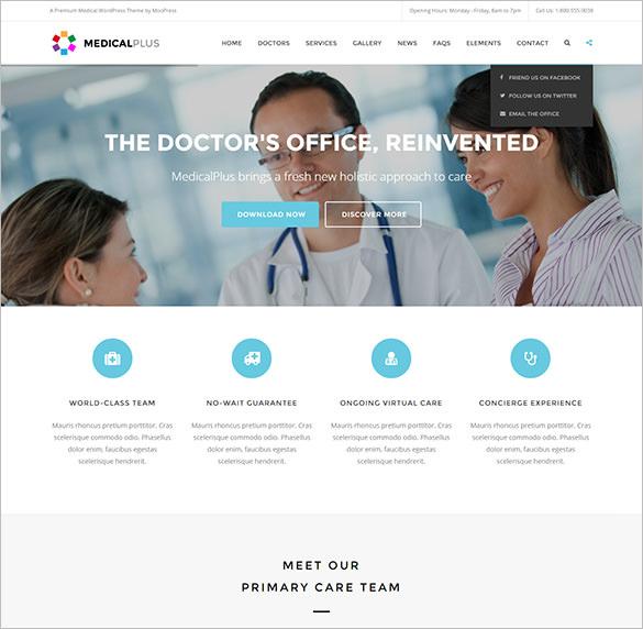 health medical wordpress blog theme1