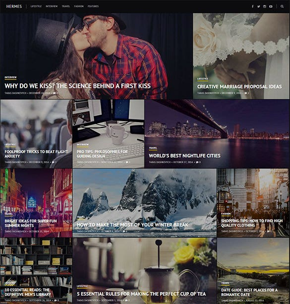 superb photography wordpress phptheme