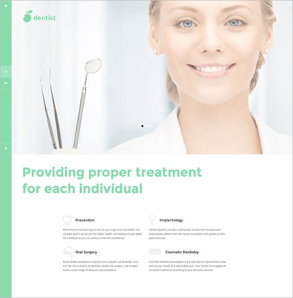dentist joomla php template