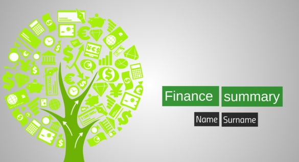 financial prezi template background download