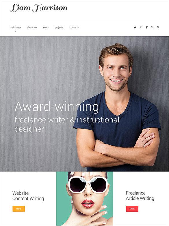 19+ Writer HTML5 Themes & Templates | Free & Premium Templates