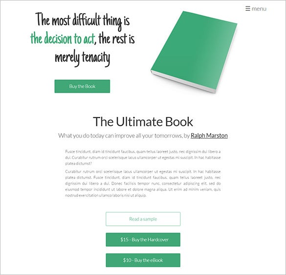 html5 crafted ghost theme for writers