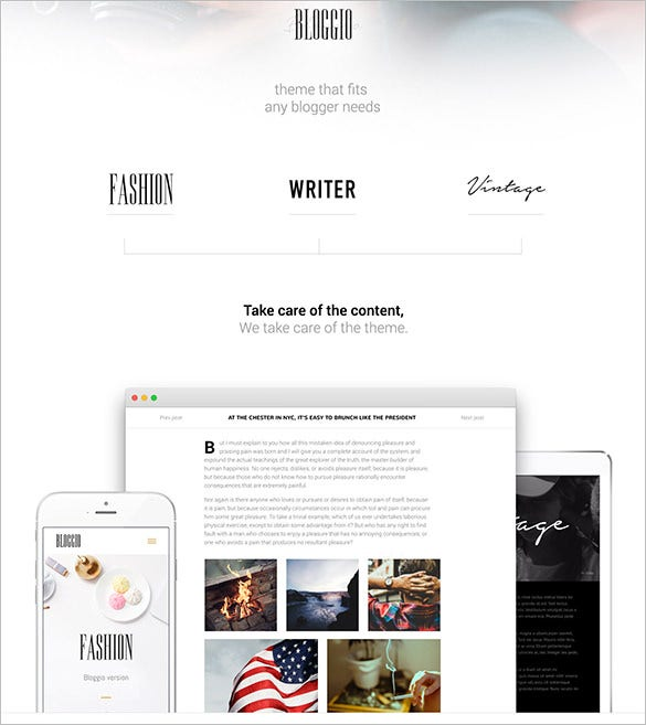 free blogger templates for writers - 19 writer html5 themes templates free premium templates