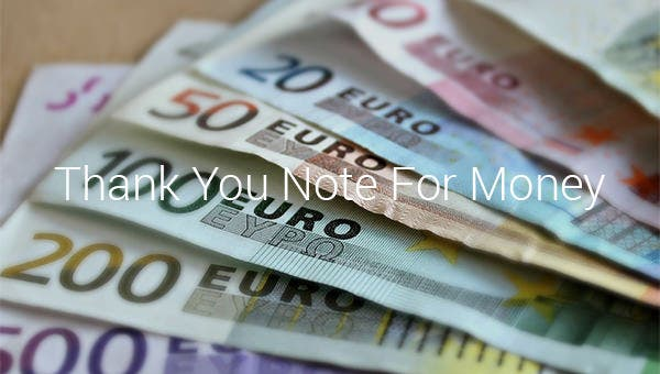 thankyounoteformoney