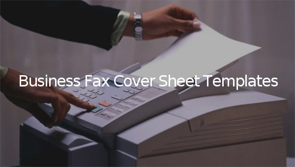 businessfaxcoversheettemplate