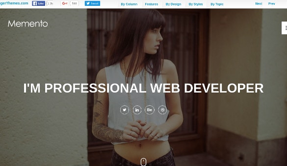 Creative Beautiful Blogger Website Theme