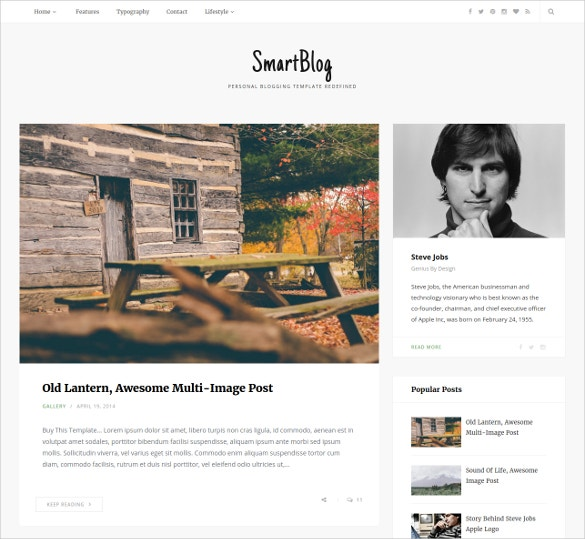 Creative Smart Blogger Template