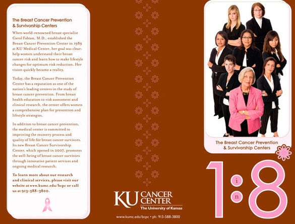 breast cancer brochure and envelope download