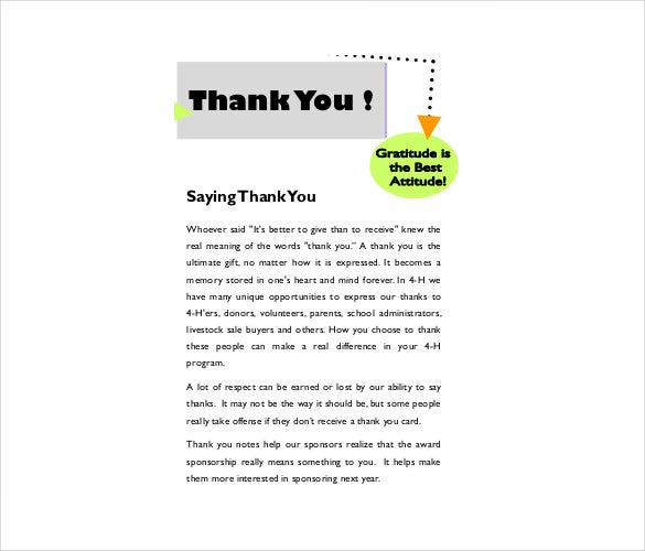 Christmas Thank You Note   Free Word Excel Pdf Format