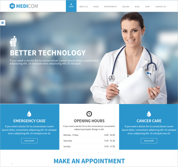 medical health drupal ubercart theme