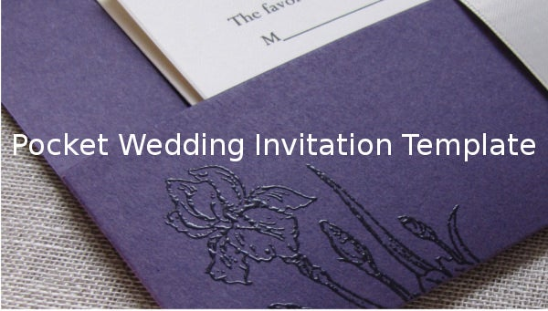 pocketweddinginvitationtemplate