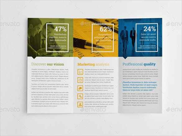 business branding graduation education trifold brochure indd format