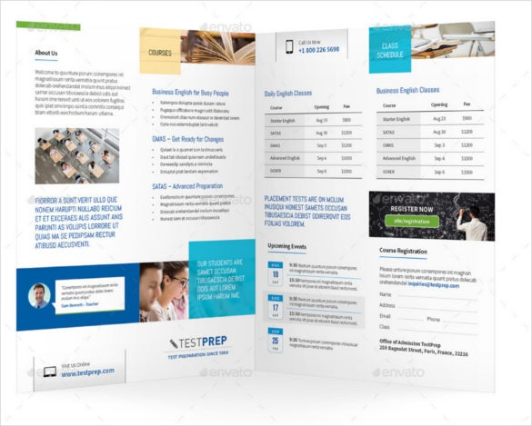 14 Graduation Brochure Templates Free Psd Eps Illustrator Ai