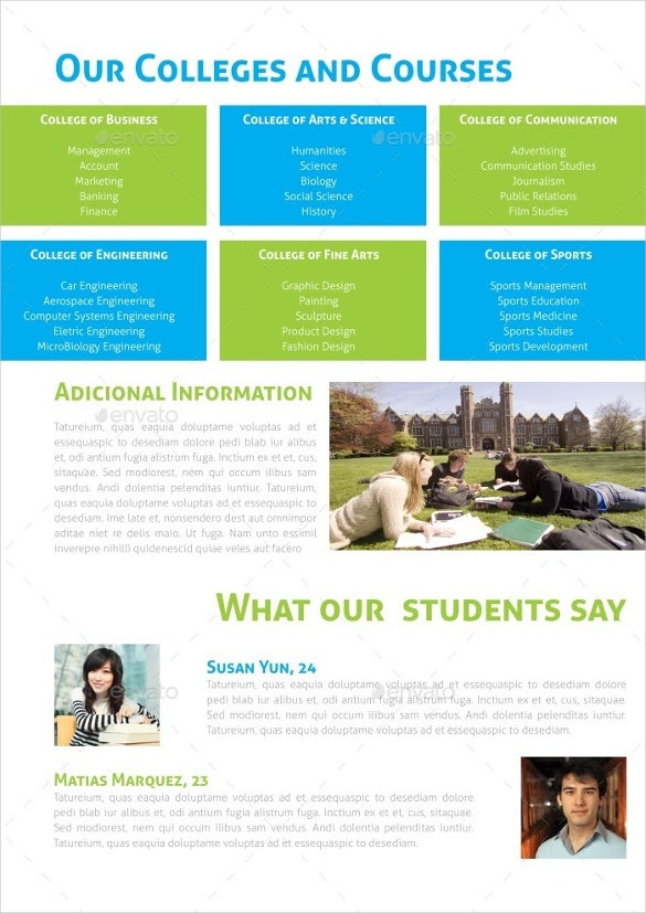 education brochure template - 14 graduation brochure templates free psd eps