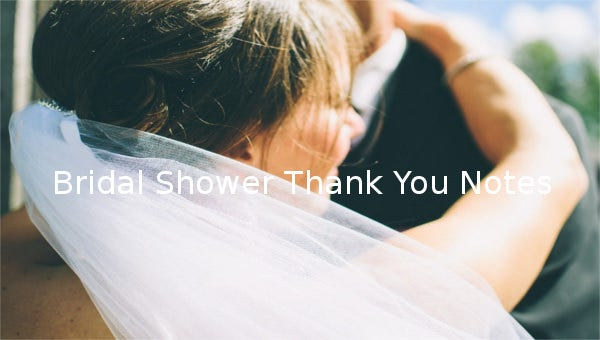 bridal shower thank you notes1