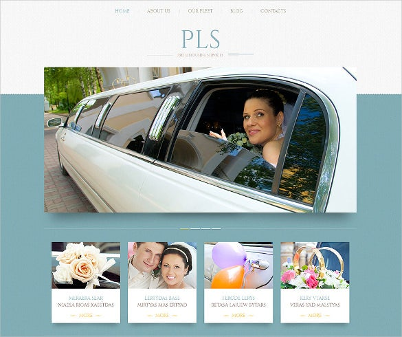 wedding services responsive wordpress template