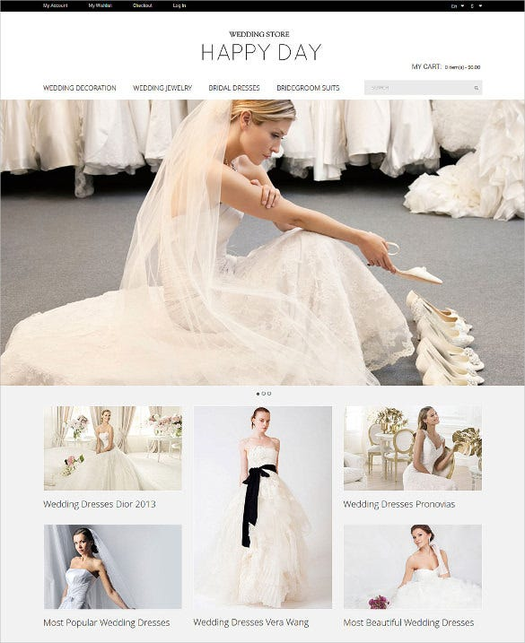 wedding store magento php theme