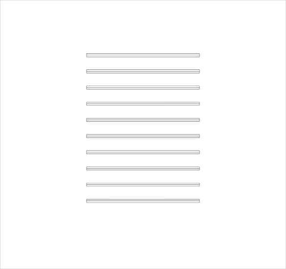 three line musical note pdf free download