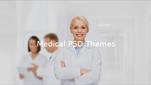 Medical PSD Themes