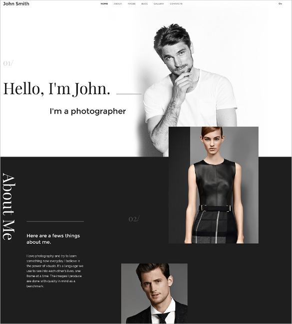 personal portfolio joomla template2