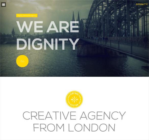 dignity portfolio responsive joomla template