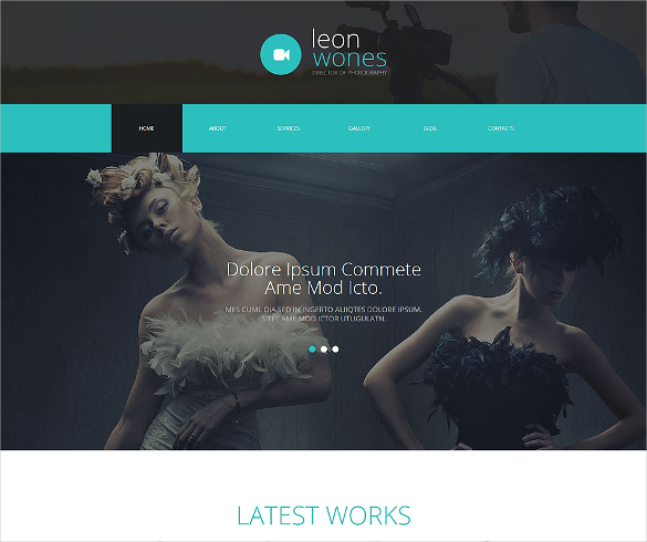 photography director portfolio joomla template