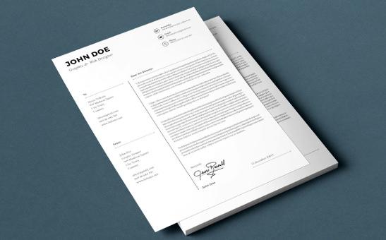 resumecoverlettertemplate
