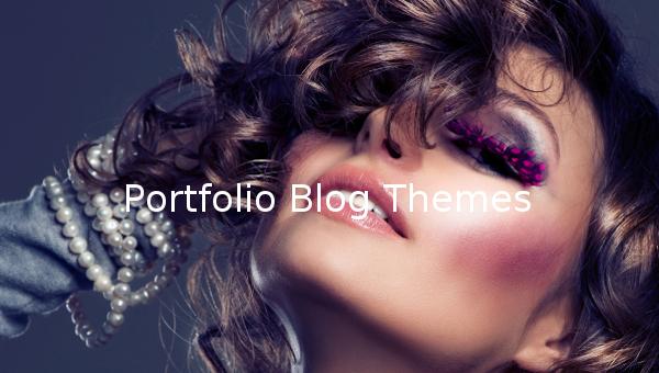 portfolio blog themes