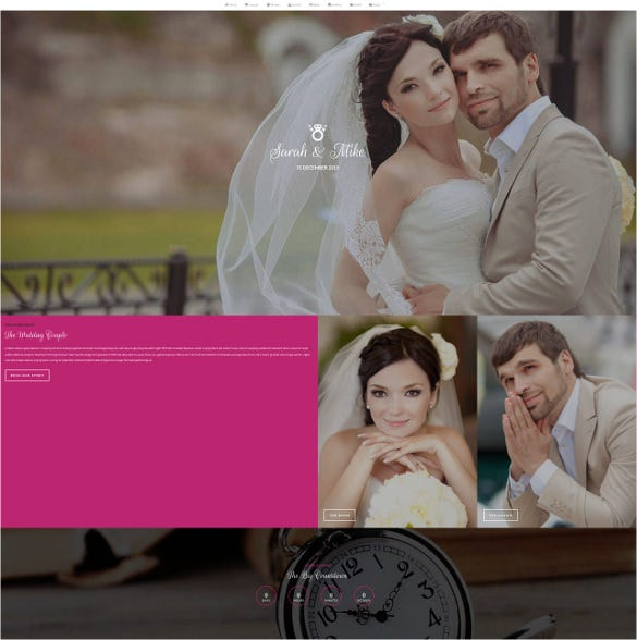 big date wedding wordpress theme