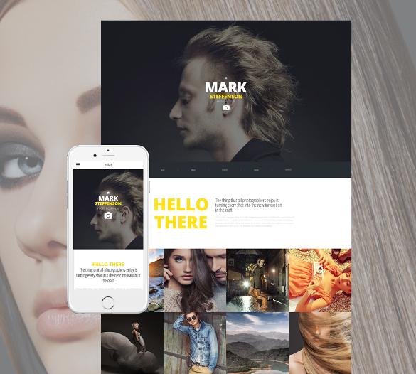 amazing portfolio html5 theme