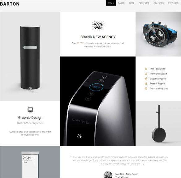 smart portfolio bootstrap theme for creative people