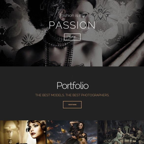 strategy multi purpose portfolio php template