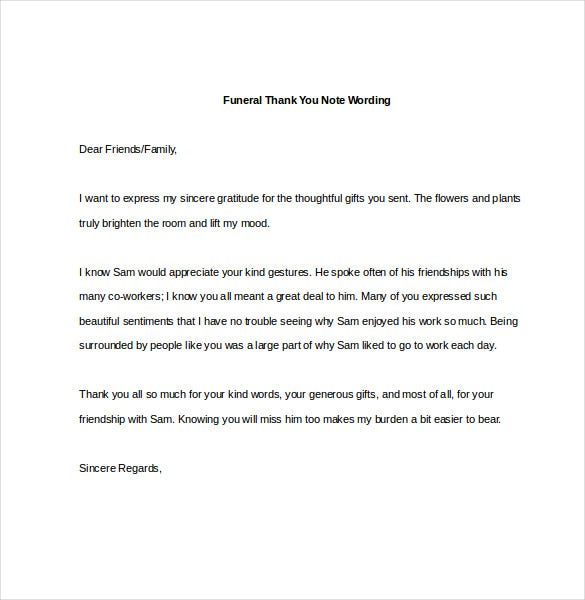 How to Write a Memorial Contribution Letter