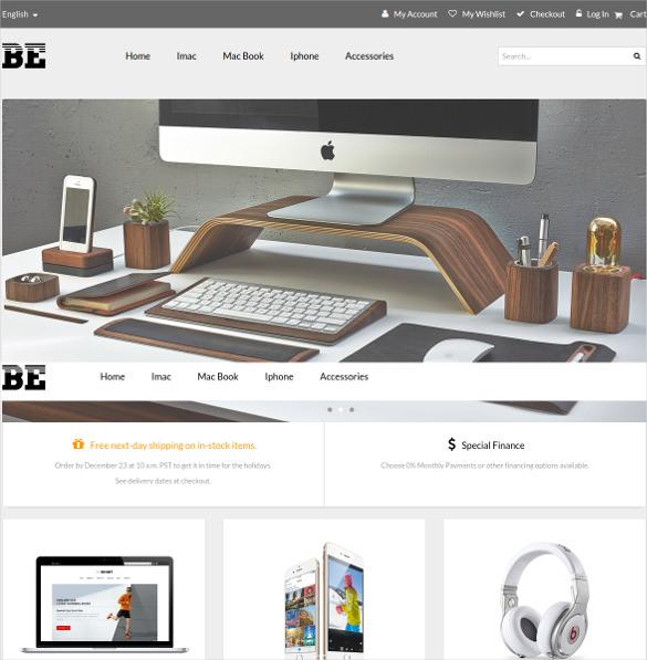 betech material portfolio magento theme