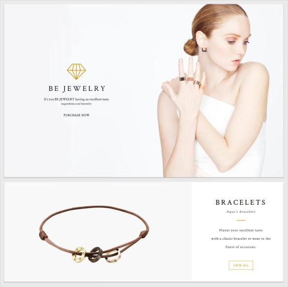 bejewelry material portfolio magento theme