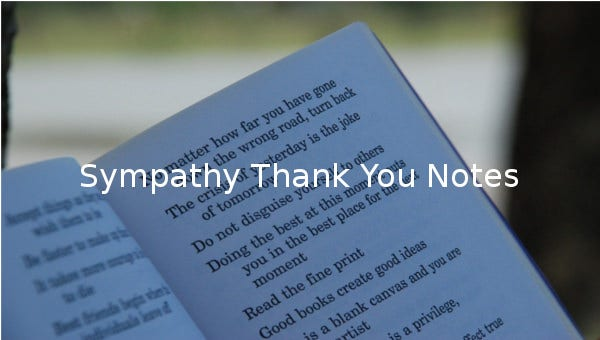 sympathy thank you notes1