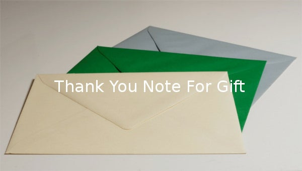 thankyounoteforgift