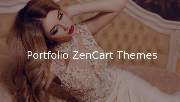 portfolio zencart themes