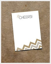 Rustic-Sparkle-Note-Card-Template