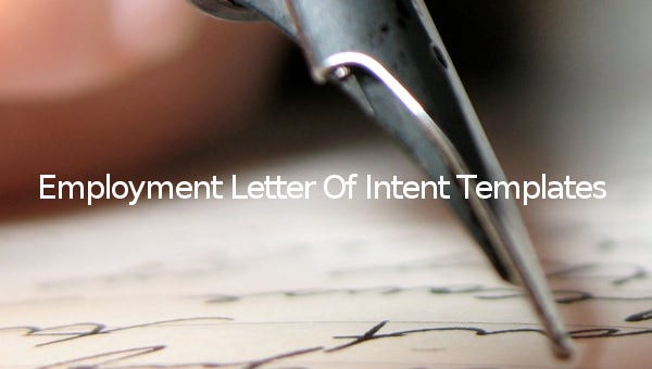 employmentletterofintenttemplates